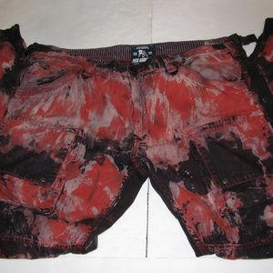 PRPS Black Bleached Savoy DISTRESSED Mens 40x32